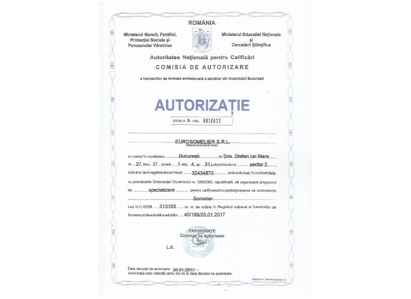 Autorizatie scoala