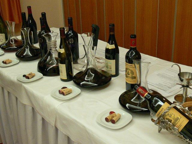 Vinul reprezinta partea intelectuala a mesei